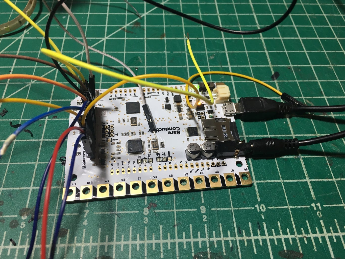 Now Test With Wires