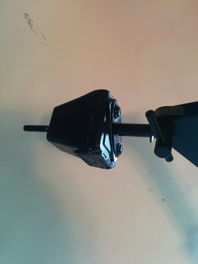 Screw the Jig (contraption) You Made and Attach to the Lamp Part