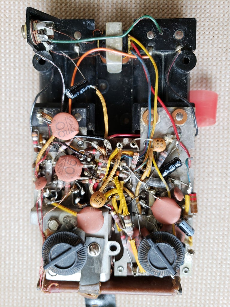 Replace the  Old Electrolytic Capacitors With Modern Ones.