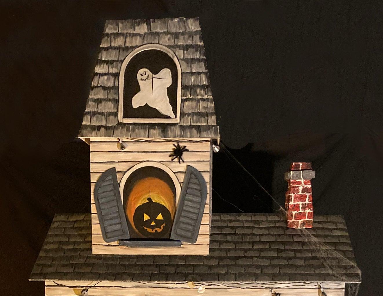 Covid Safe Haunted House Treat Dispenser