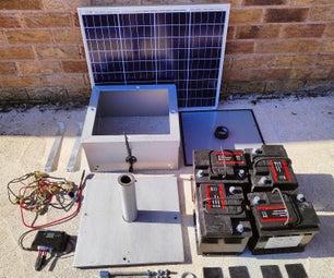 Helium Hotspot Off Grid Solar Set Up for Nebra Outdoor Miner