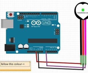 使用Arduino的脉搏血氧计