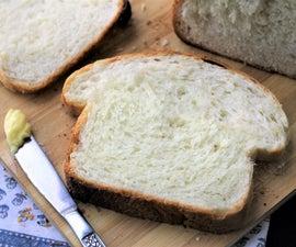 FAILPROOF White Sandwich Bread (almost No-knead)