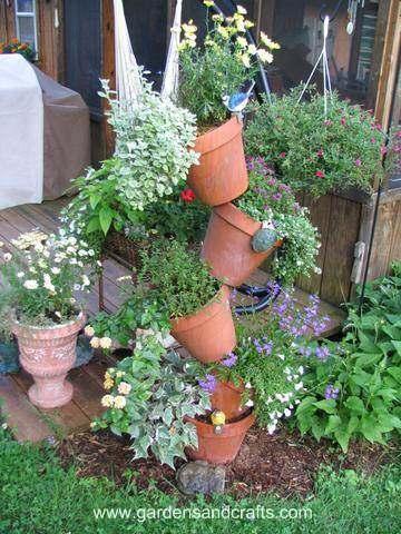 Tipsy Pots Tower Planter