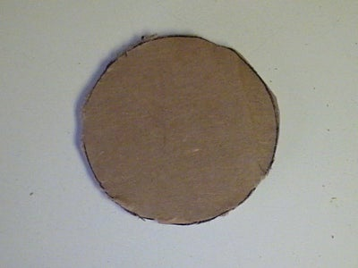 Cut Cardboard Circle
