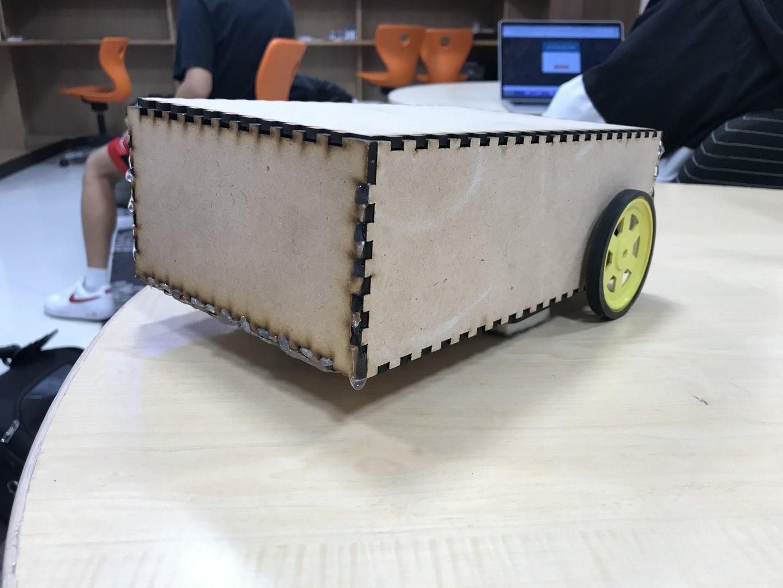 Make a Robot Cleaner