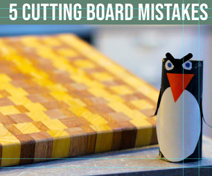 5 Cutting Board Mistakes to Avoid