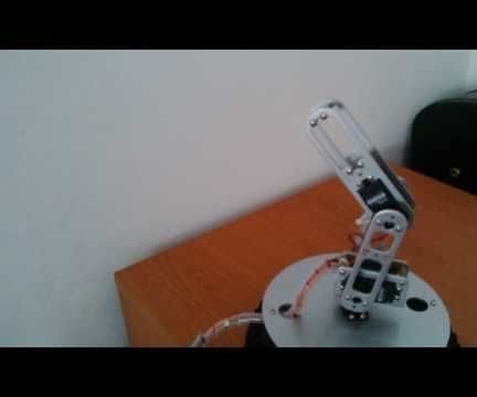 Fpga Controlled RC Servo Motor Robot Arm - Digilent Contest