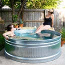 How to Make a Stock Tank Pool! Easy DIY Backyard Pool