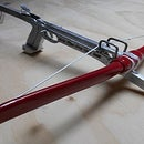Cast Aluminum Self Cocking Crossbow Pistol