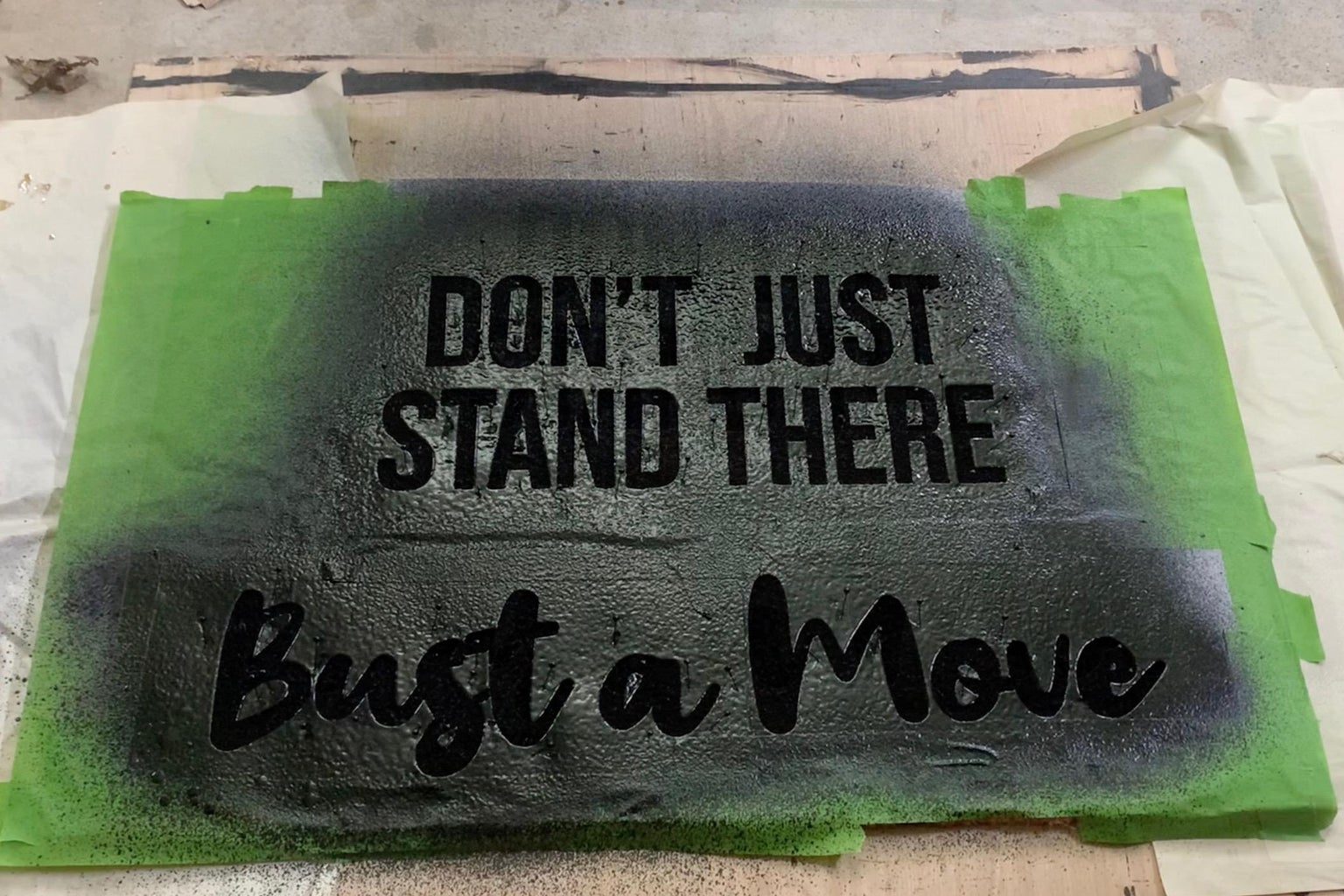 Paint Mat With Flex Seal