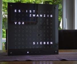 Word Clock (german)