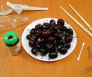 Top 5 Food Life Hacks - How to Pit Cherries