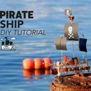 Floating Pirate Ship