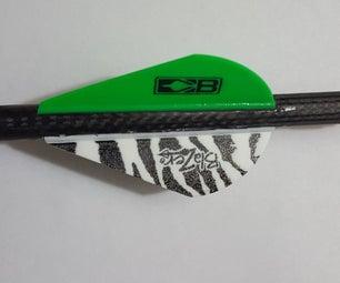 How to Re-Fletch a Three-Vane Carbon Arrow