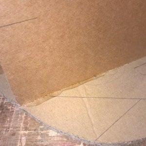 Heart Cardboard Structure, Glue Gun and Weight
