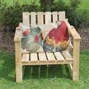 家庭和花园的托盘木扶手椅