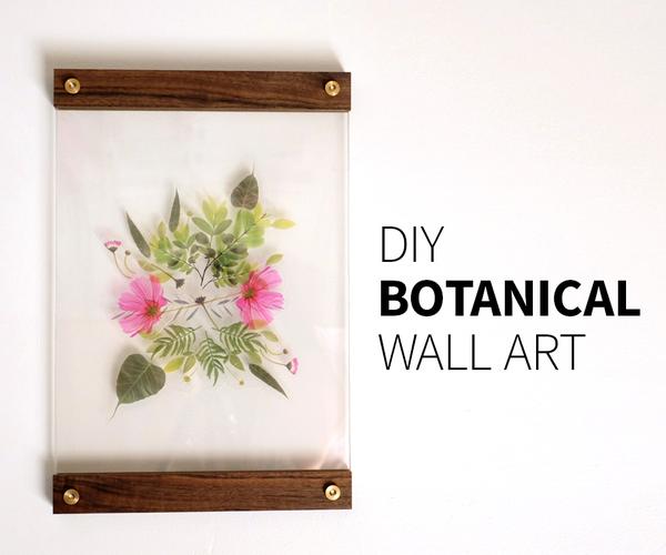 DIY Botanical Wall Art