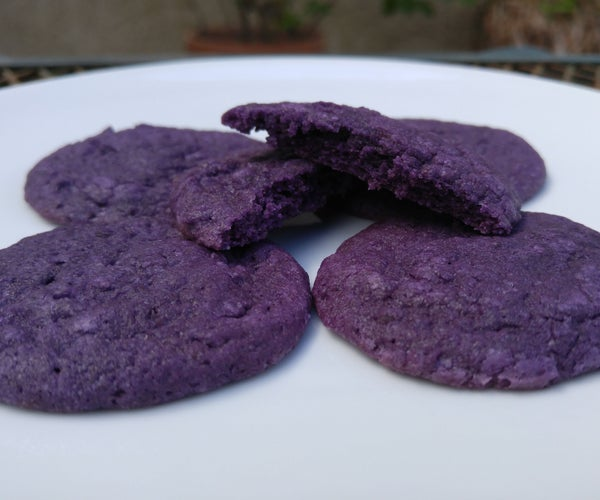Ube Cookies