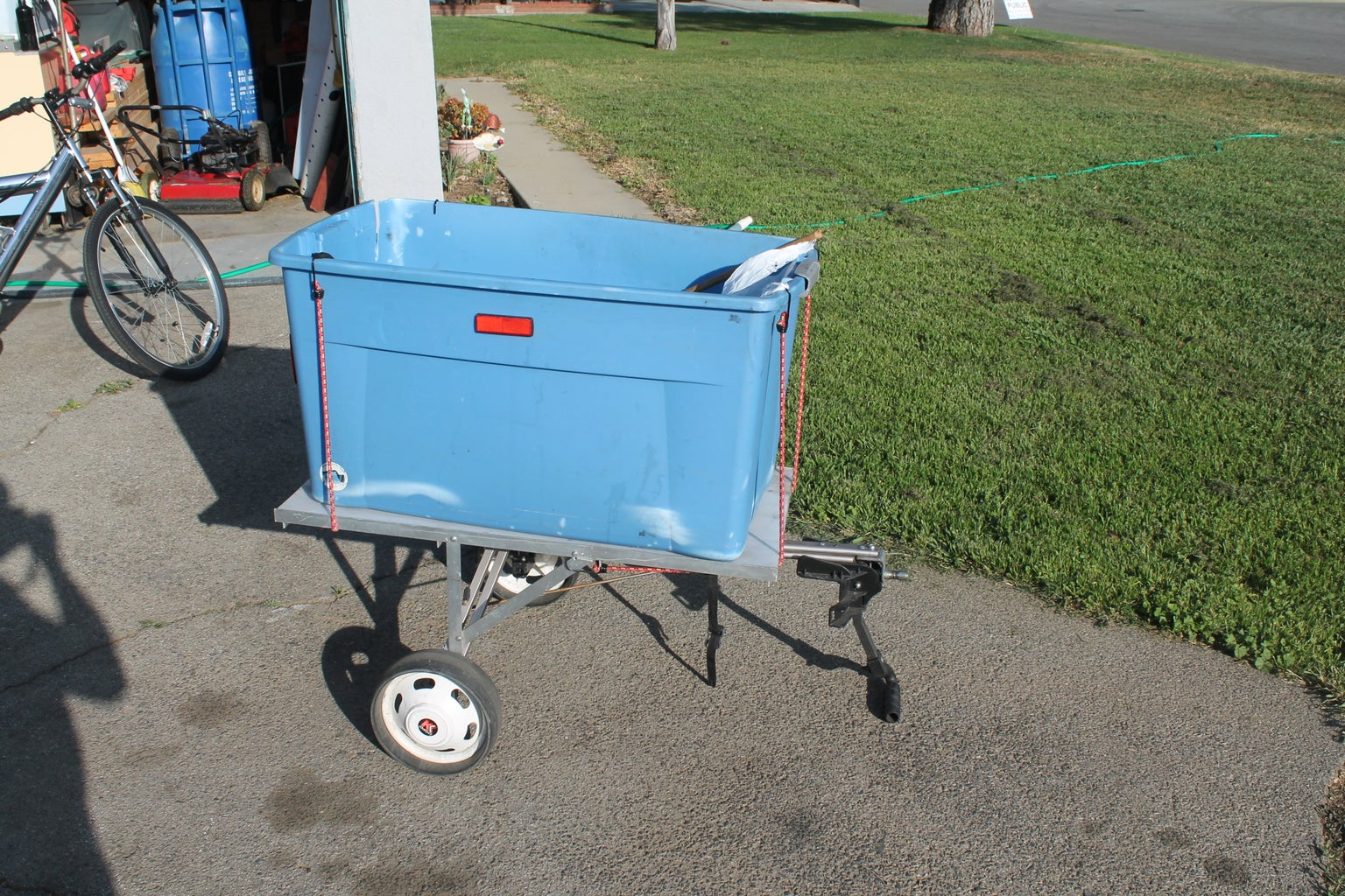 Another Bike Trailer Improved