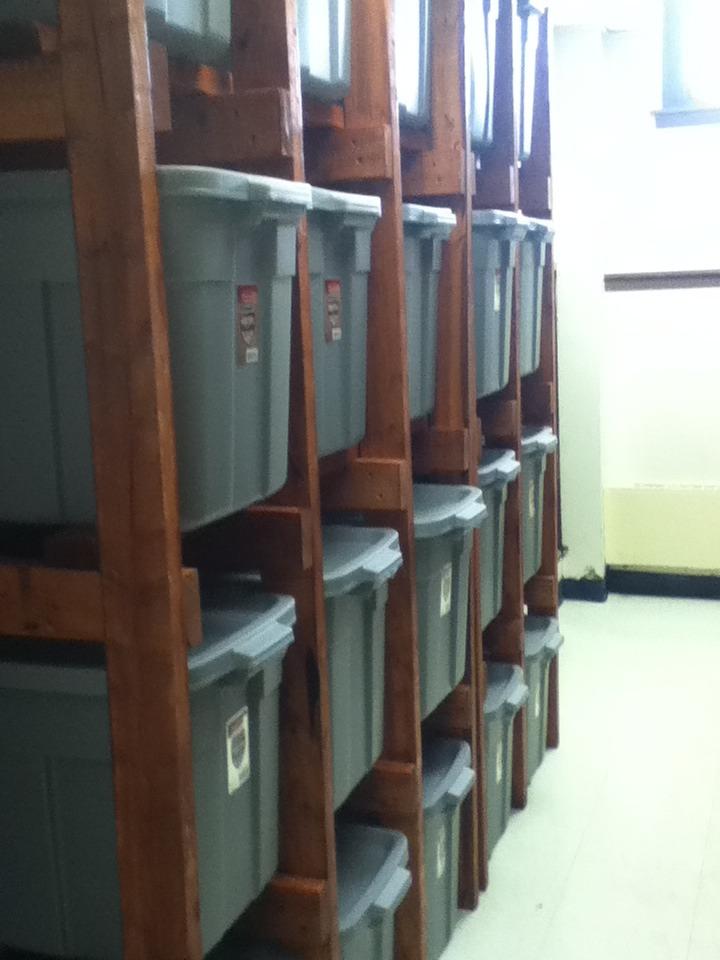 Tote Shelves