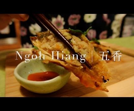 Ngoh Hiang (Five-Spice Meat Rolls)