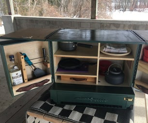 Deluxe Camp Chuck Box - Glamping Style