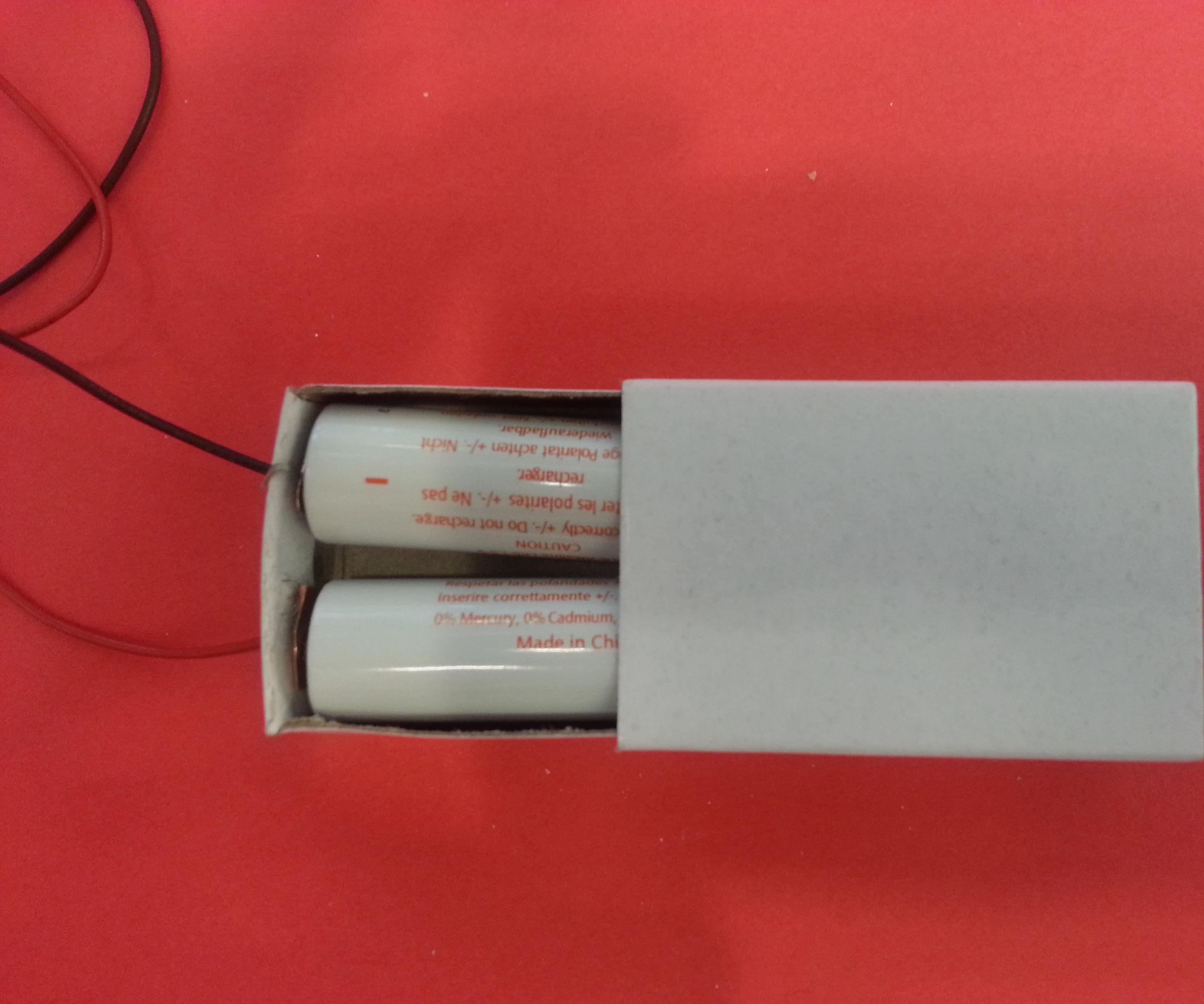 DIY  AA Battery Holder