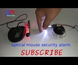 Mouse Security Alarm