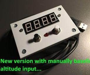 Altimeter (altitude Meter) Based on Atmospheric Pressure