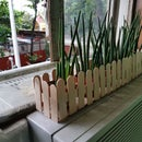 Ultra Easy Picket Fence Planter Box Kids Project