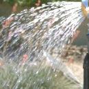 Solar Hot Water Shower - DIY Solar Shower - (using Black Poly Water Heater)