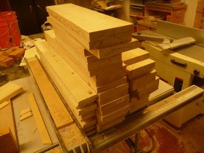 Finish Milling Wood