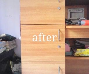 Study Table Door Fix