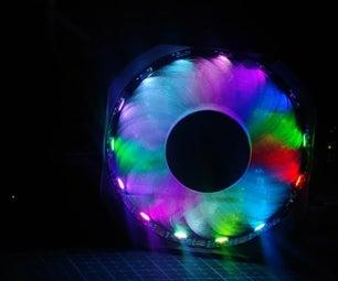 DIY RGB冷却风扇