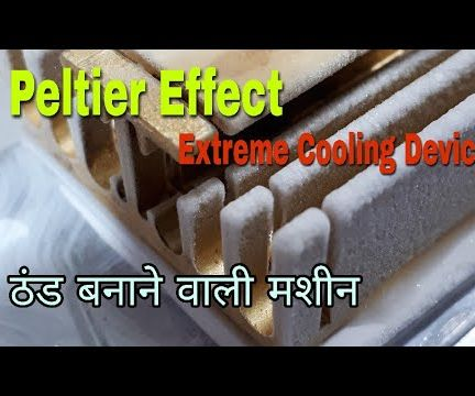 Peltier Effect (Extreme Cooling)