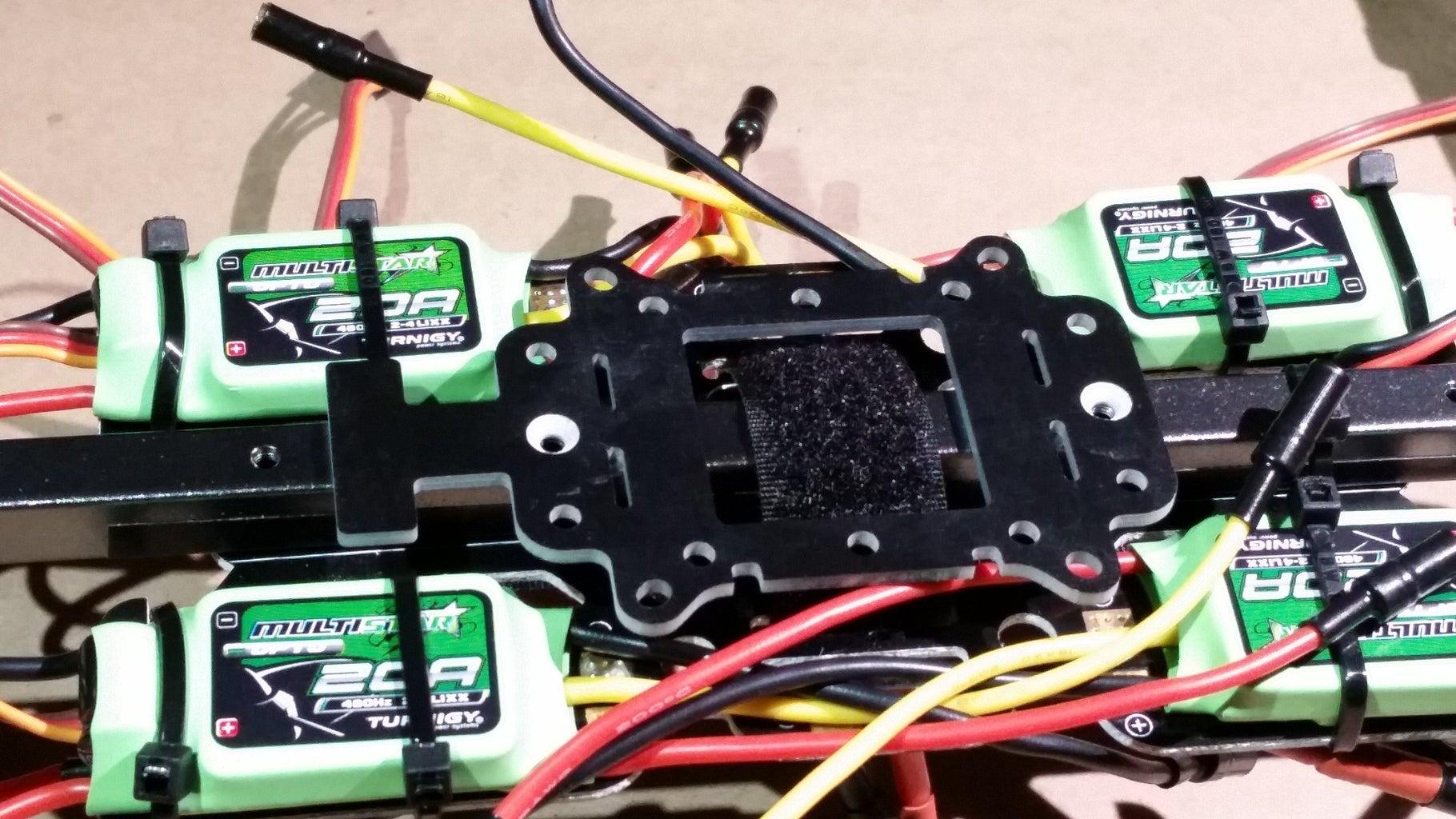 Attach Flight Controller Mount to Inner Frame
