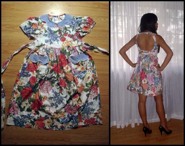 Flirty Garden Party Dress Reconstruction
