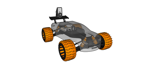 Mobile Earth Rover Two - 3.5G Exploration