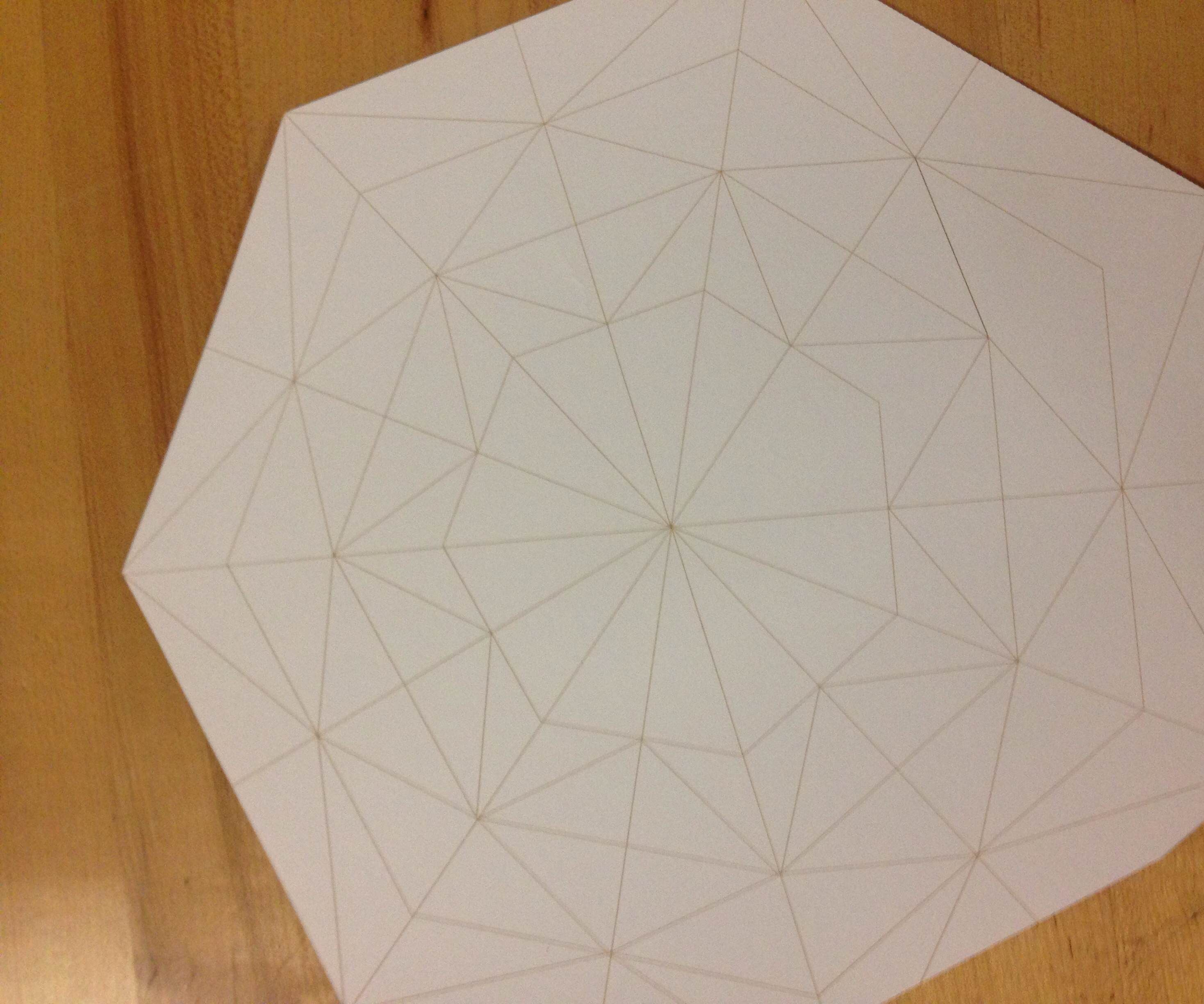 folding paper with a laser cutter