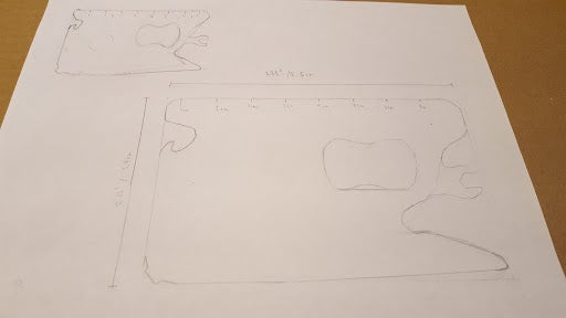 Drawing It Out/ Designing It on Paper