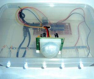 Motion Sensing Micro-Processor Controled  Night Light