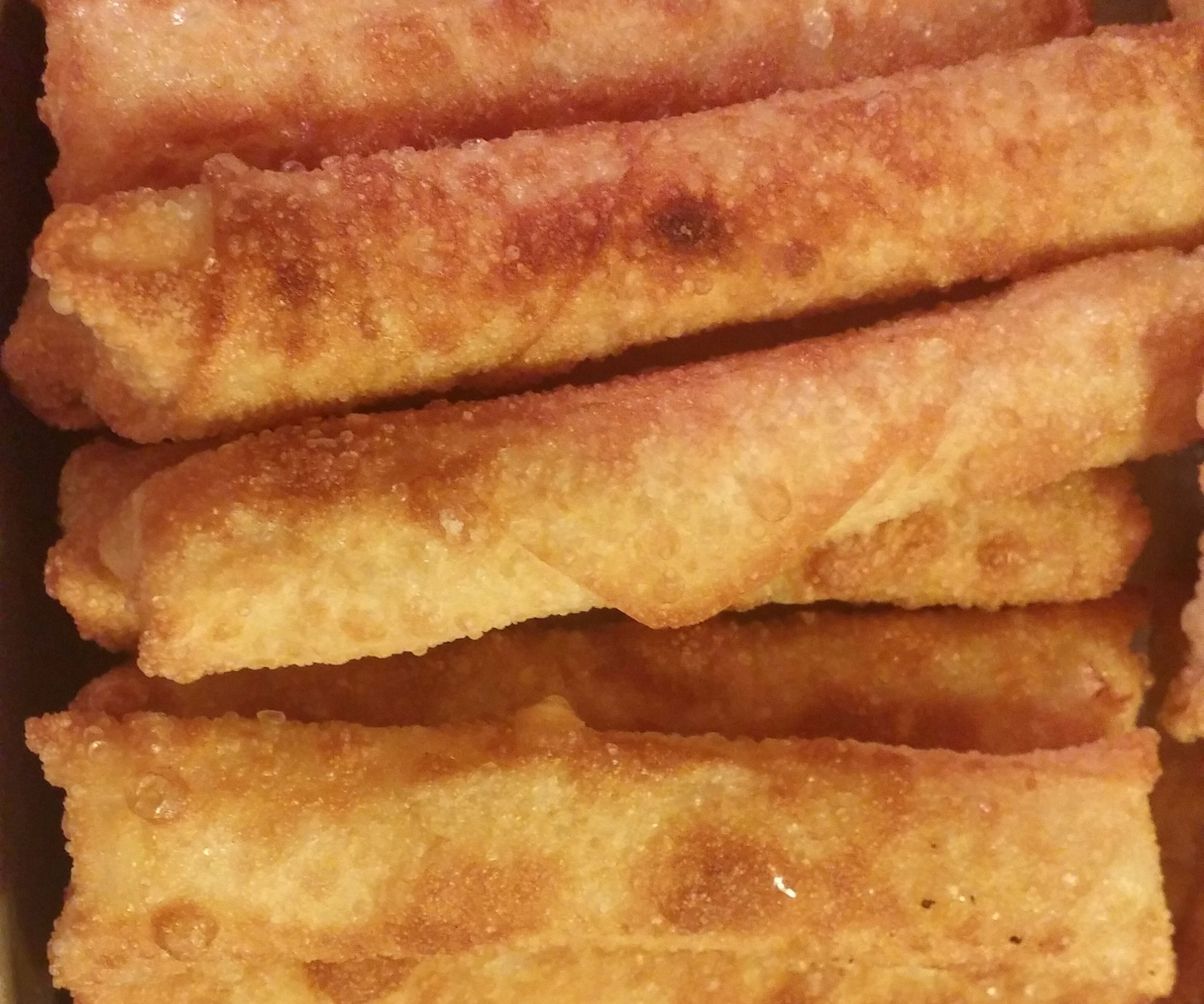 Mozzarella Sticks - Restaurant Style Eggroll Wrapped