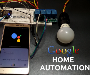 Control Devices Using Google Assistant !