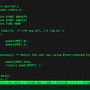 68k-mbc C Programming Example USERLED