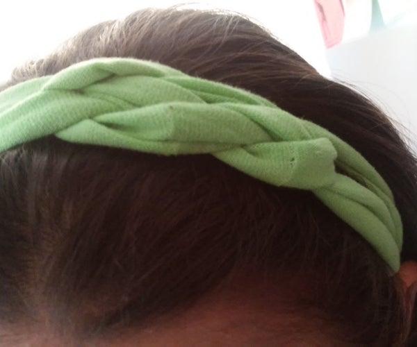 Celtic Knot Headband From T-Shirt