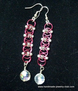 Helm Chain Maille Earrings Tutorial