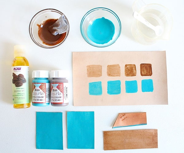 How to Dye Leather