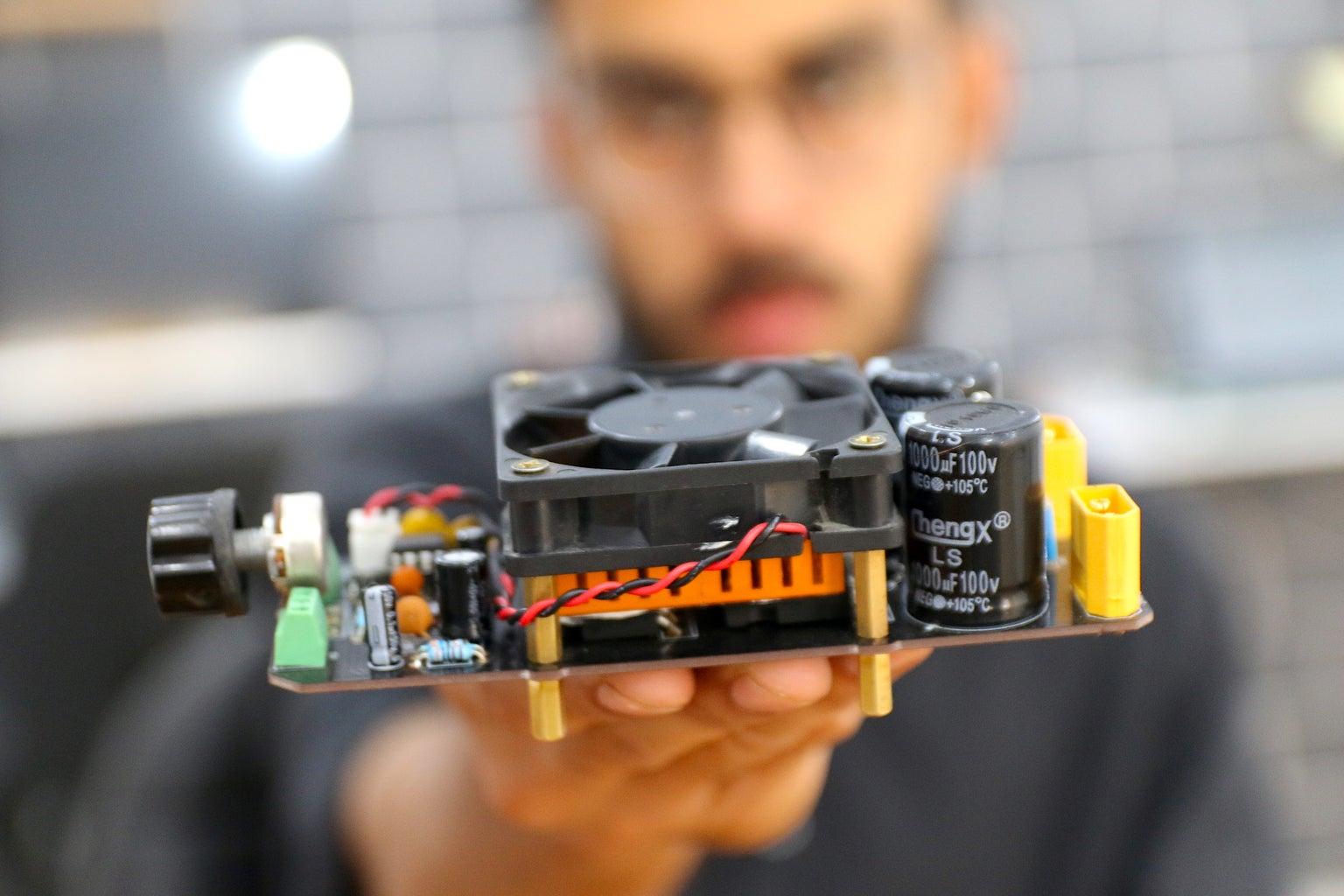 DIY 2000 Watts PWM Speed Controller
