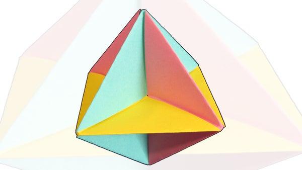 Easy Origami Spinner